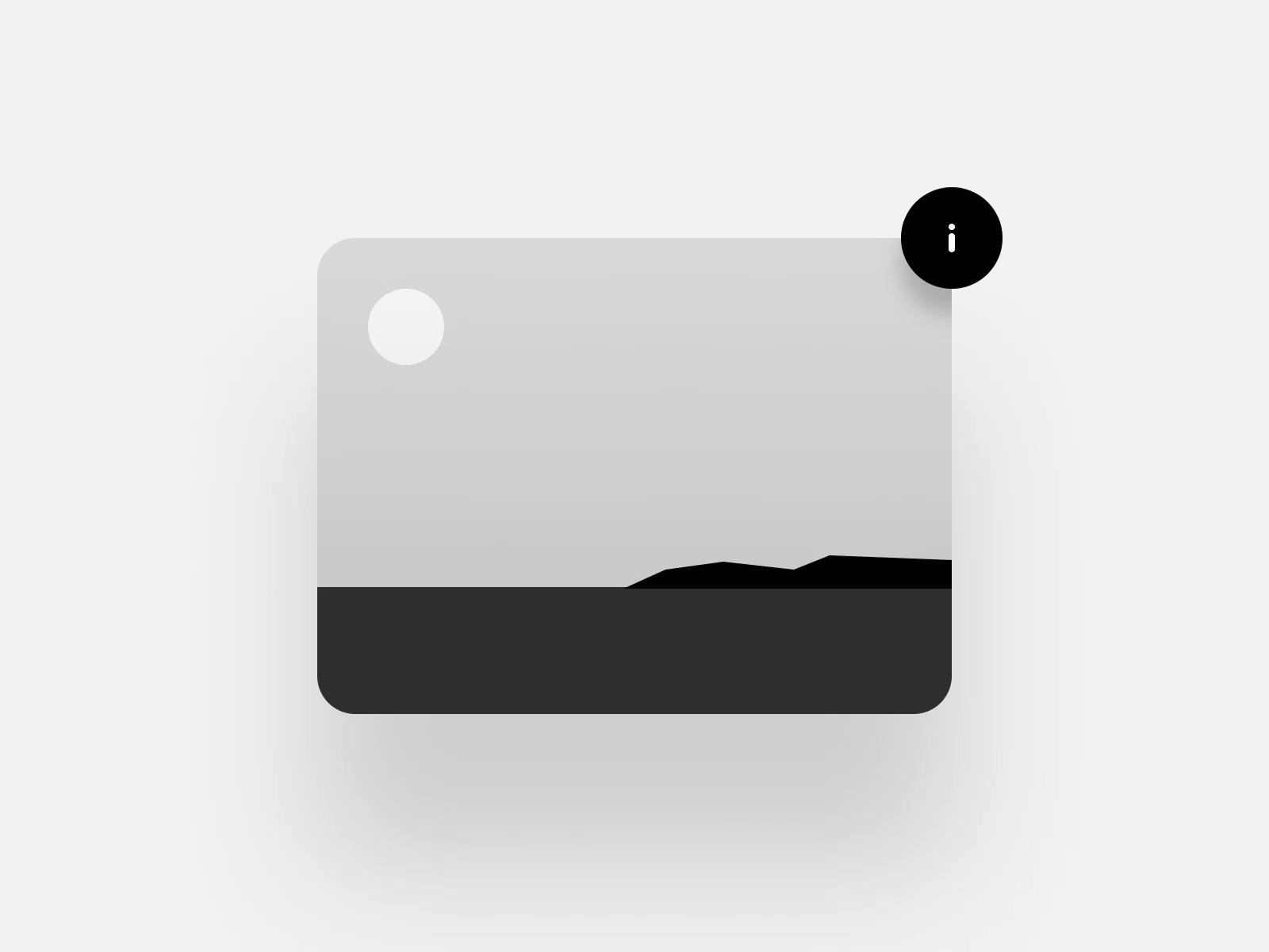 Info button interaction