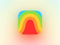 Space Rainbow App Icon