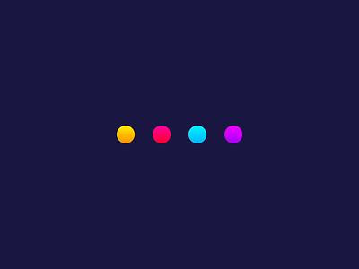 Activity Indicator ar vr mobile design after effects 3d preloader loader interaction design microinteraction microinteractions ui animation animation activity indicator dots ui design ux design ui ux