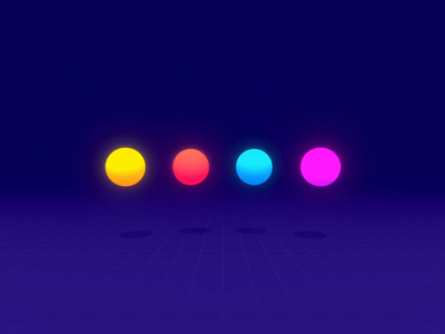 VR Loader dots post processing activity indicator loader vr design virtual reality vr product design interaction design microinteractions 3d madewithunity unity unity3d animation ui animation ui design ux design ui ux