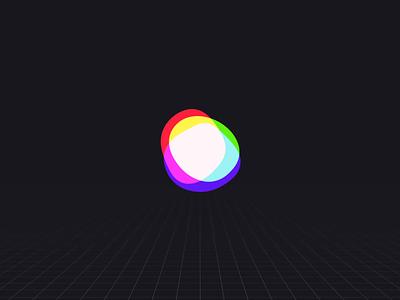 VR Loader rgb offset ui ux game design product design interaction design blobs after effects preloader animation ui animation microinteractions processing loader activity indicator 3d vr design vr