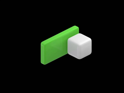 VR Switch III eevee cubes xr volumetric ui ui design blender ux design interaction design ui animation animation microinteractions vr design vr switcher 3d button toggle switch ui ux