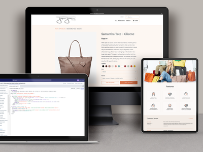 Shopify Custom Product Page