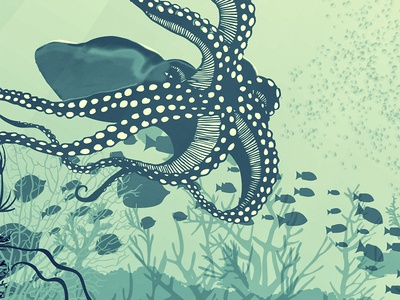 Sceneries Illustrations - Underwater