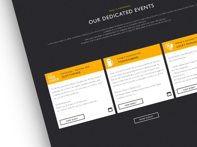 Casino Website Design Work In Progress