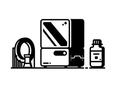Farewell Form 1+  bottle rook mobius printer 3d printer 3d printing formlabs
