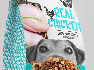 Dog Food Bag craft dogfood photoshop packaging