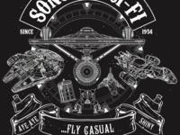 Sons of Sci-Fi Shirt design