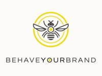 behaveyourbrand logo design