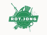 Rot.Jong logo design
