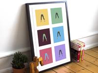 Magical Legs print impression