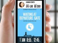 Travel Status App