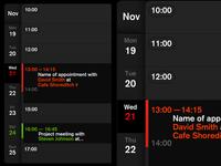 Calendar App - Concept Design