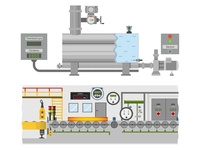 Project for industrial automation laboratory