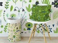 Textile and wallpaper pattern