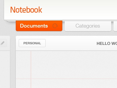 Notebook – iPad App