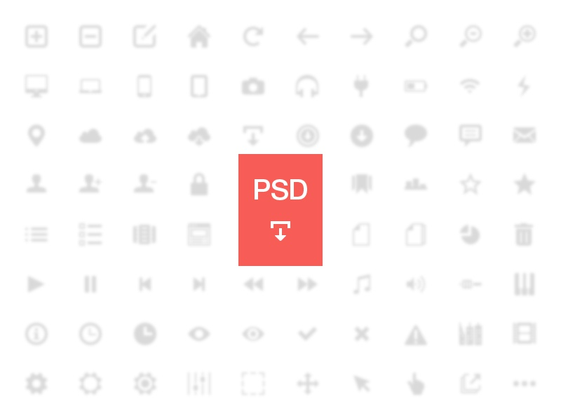 Freecons v.01 [PSD] psd freecons icons collection free glyphs symbols pictographs set 16px