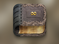 Old Book iOS Icon V2