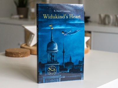 "Cover Illustration ""Widukind's Heart"" #2 book cover illustration"