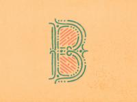 """B"" | 36 Days Of Type 04"