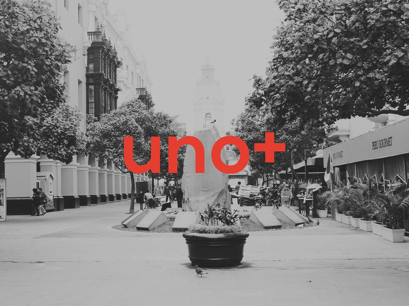 Uno+ Cover peru christian photoshop photography lima church logo branding