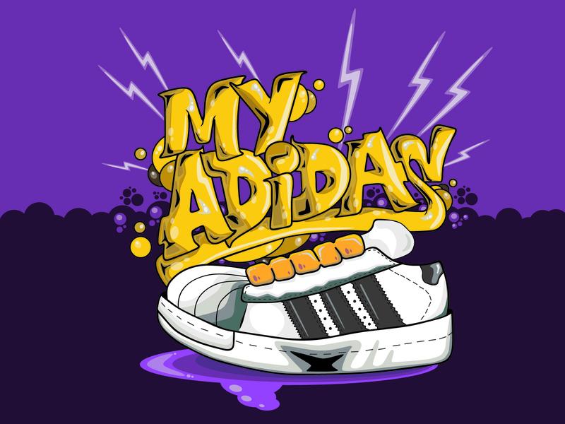 acheter en ligne d15d1 61b55 My Adidas by Jay L. Johnson on Dribbble