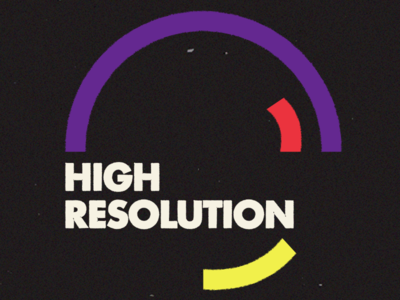 Branding the High Resolution Podcast for Designers