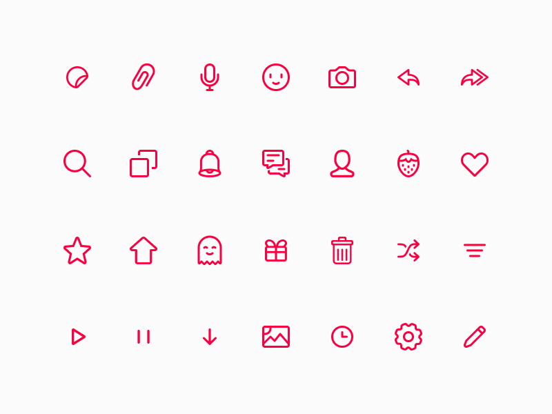 dating app icons