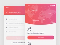 Moversly – Home and Register agent