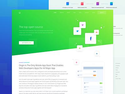 Inner Service Page for Marketing Website landing zajno ux ui targeting strategy planning optimization marketing communication analytics advertising