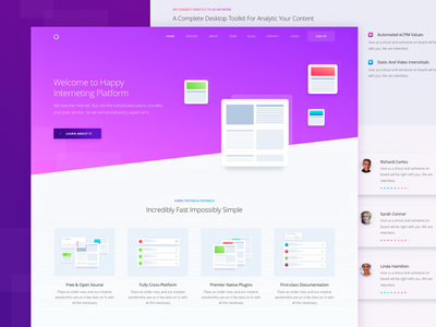Inner Service Page for Marketing Website zajno ux ui targeting strategy planning optimization marketing deliver communication analytics advertising