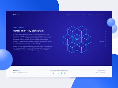 New Cryptocurrency Website: Solution Description token bitkoin information architecture web design data numbers design website crypto ux ui zajno