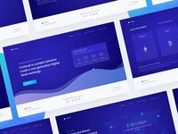 New Cryptocurrency Website Design
