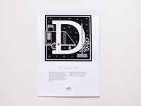Murder Types self-publishing prints and book D / Descuartizar
