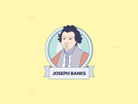 """Mares de Fauna y Flora"" infographics Joseph Banks"