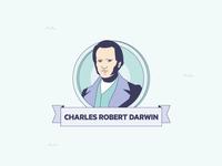 """""""Mares de Fauna y Flora"""" infographics Charles Robert Darwin"""