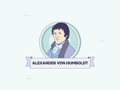 """Mares de Fauna y Flora"" infographics Alexander Von Humboldt species discover science illustration design magazine infographics"