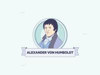 """""""Mares de Fauna y Flora"""" infographics Alexander Von Humboldt"""