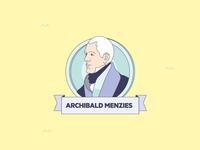 """Mares de Fauna y Flora"" infographics Archibald Menzies"