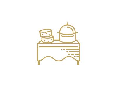 QAVA x Martín Afinador icon catering vector illustration design logotype brand icon shop cheese lactic milk