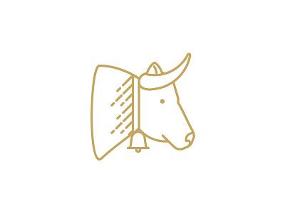 QAVA x Martín Afinador icon cow vector illustration design logotype brand icon shop cheese lactic milk