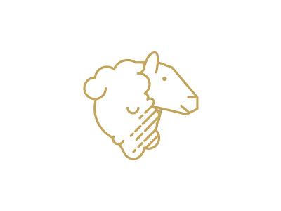 QAVA x Martín Afinador icon sheep vector illustration design logotype brand icon shop cheese lactic milk