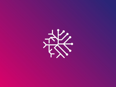 Elabrelatas Panacea Icon Logo artificial intelligence deep learning forensic development software startup design web brand