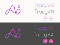 Logo for Tracy AI, an AI-based chatbot startup