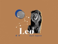Weekly Warm-up Zodiac Sign1 collage leo sign astrology graphic design