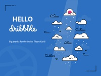 Hello, Dribbble!!!