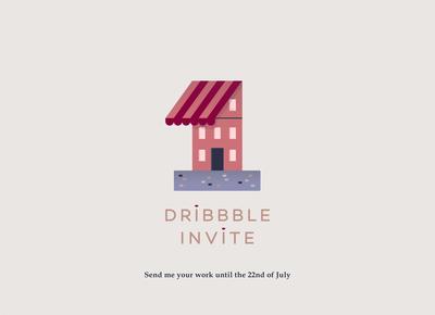 A Dribbble Invite