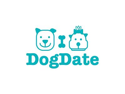 Dog Date logo brand graphic design logo