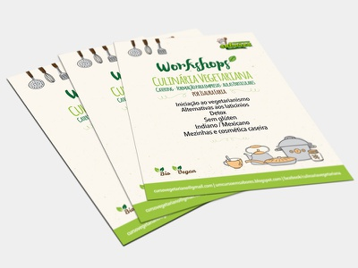 Flyer Workshops promotion editorial graphic design flyer