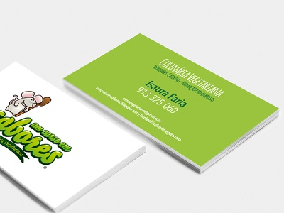 Business Card  portugal vegetarian vegan design graphic design business card